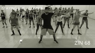Zumba® Zin 68 - Staying Alive - Cumbia - Coreografia l Cia Art Dance