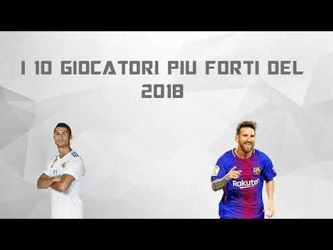 I 10 GIOCATORI PIU FORTI DEL MONDO 2018 *calcio*