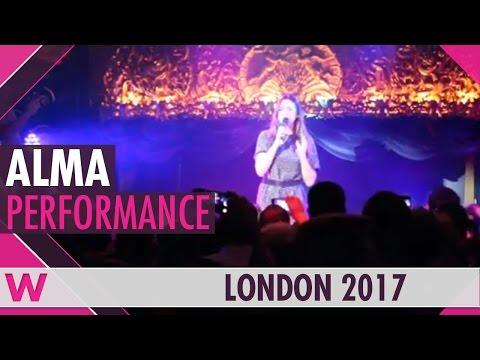 "Alma ""Requiem"" (France 2017) LIVE @ London Eurovision 2017"