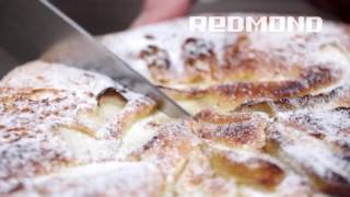 Шарлотка с яблоками в аэрогриле, видео рецепт для REDMOND RAG-241(, 2016-09-29T14:39:33.000Z)