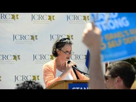 Cookie Hymer Blitz, JCRC President At