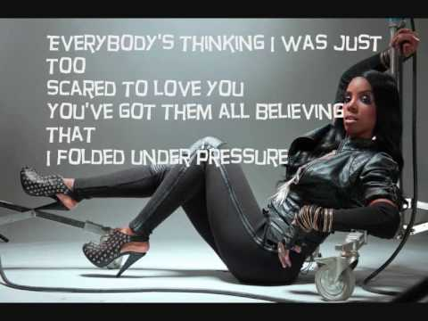 Kelly Rowland  Rose Colored Glasses With Lyrics On Screen NEW SONG 2010