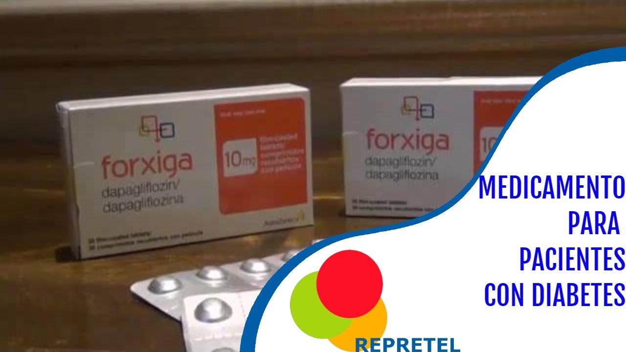 medicamento para la diabetes farxiga