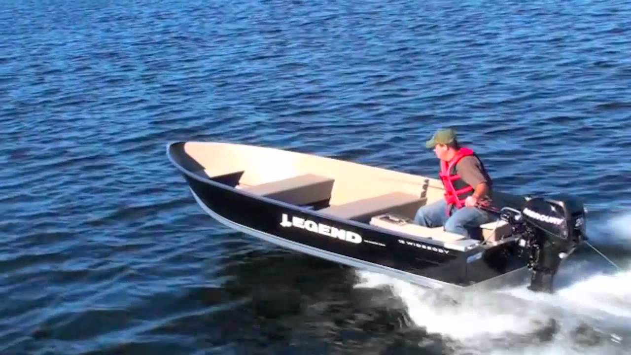 Best Fishing Utility Boat by Legend 16 Widebody Boating Video