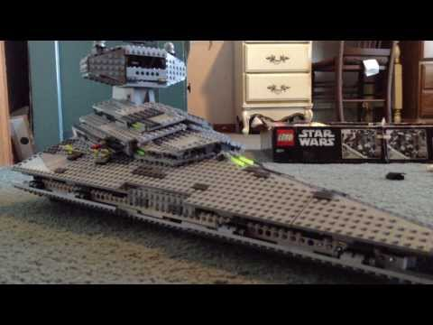 Lego Imperial Star Destroyer Review: Lego Star Wars Set 6211, 2006, 1,366 Pcs.----HUGE AND EPIC!