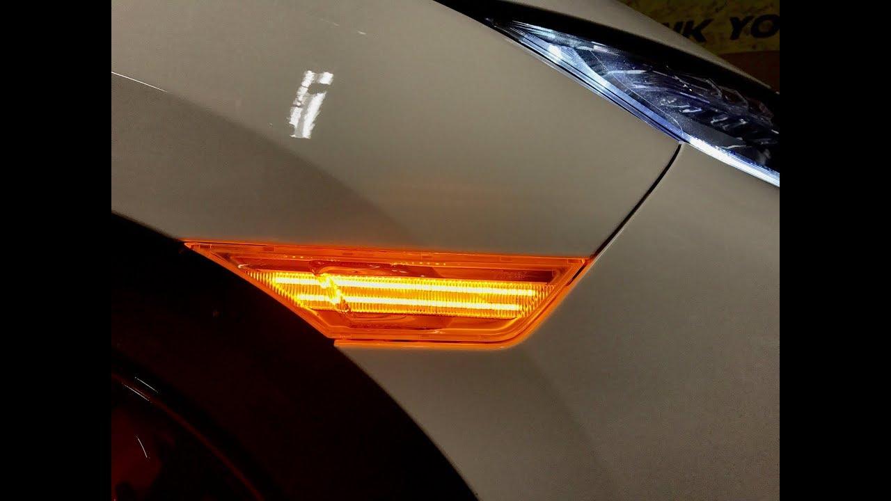 SupernovaLEDs Honda Civic Side Marker Switchback