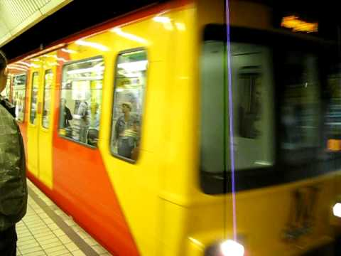 Newcastle Upon Tyne Central Station Metro Station