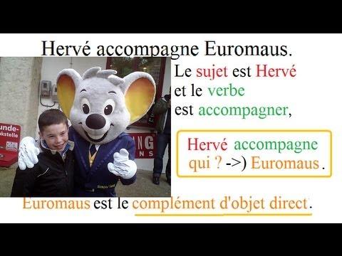 Cours de français pour cm1 cm2   Le COD, complément d ...