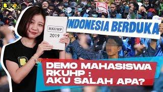 DIDEMO MAHASISWA SE-INDONESIA, RKUHP: AKU SALAH APA?