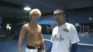 MMA Muay Thai Boxing Liver Body Shot
