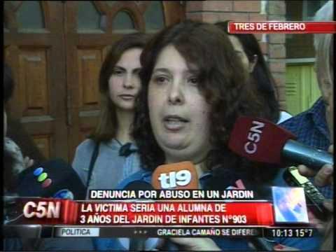 C5N - POLICIALES: DENUNCIA POR ABUSO EN JARDIN DE TRES DE FEBRERO