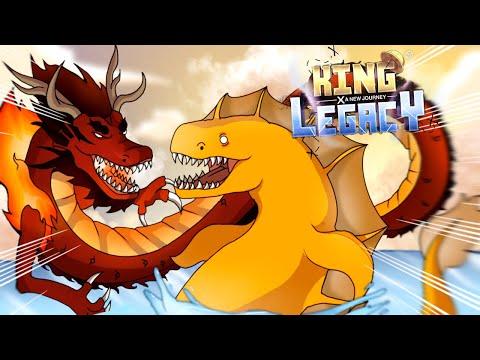 King Legacy ตามล่าเจ้าทะเล!! ด้วยผลมังกรของ4จักรพรรดิผู้ยิ่งใหญ่!?