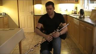 Uilleann pipes - Chris McMullan - The Coolin