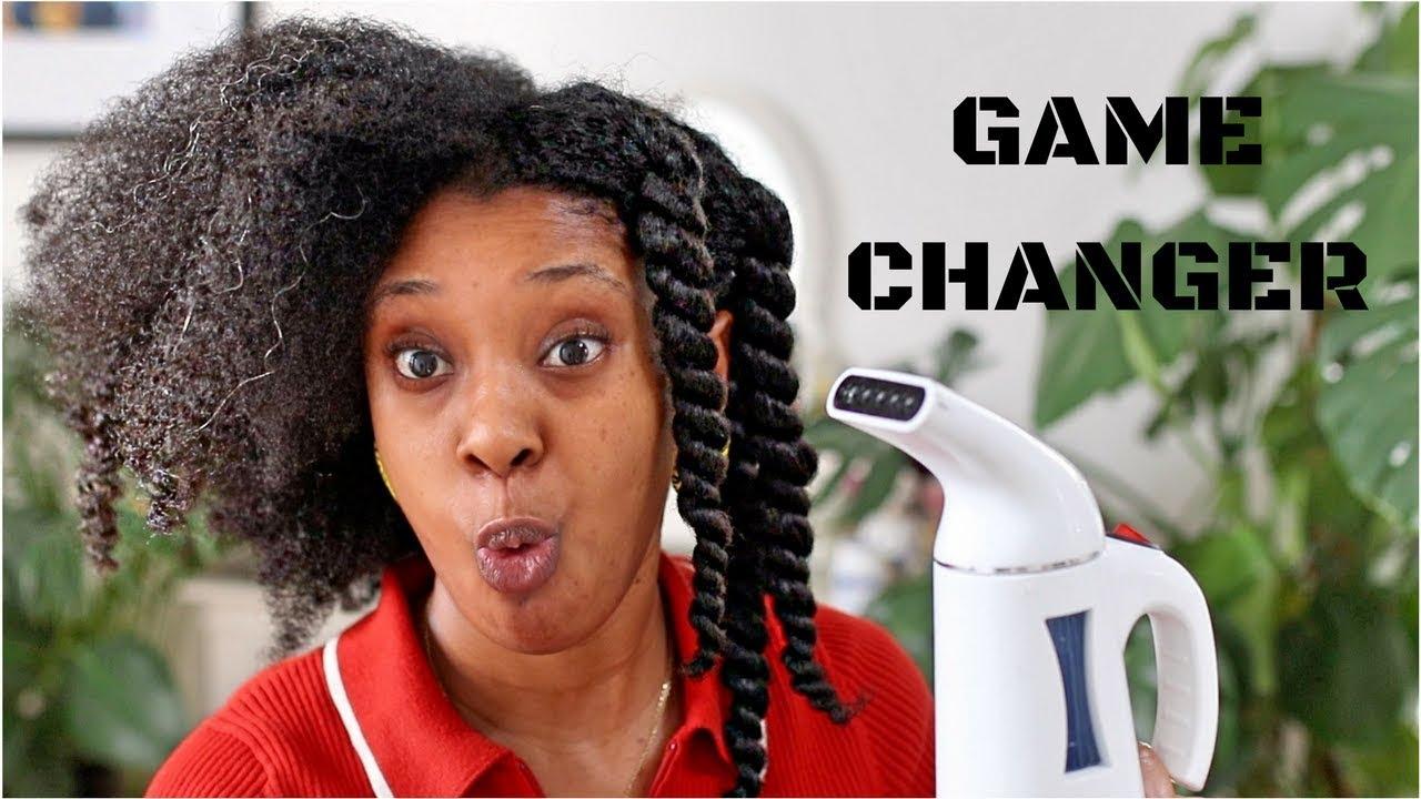 Travel Steamer For DEEPER MOISTURE! £21/$21 NATURAL HAIR GAME CHANGER ????