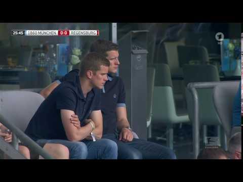 Sven and Lars Bender at 1860 München v Jahn Regensburg 2016/17