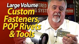 POP rivets, Fasteners custom or stock at the lowest prices - OEM Fasteners