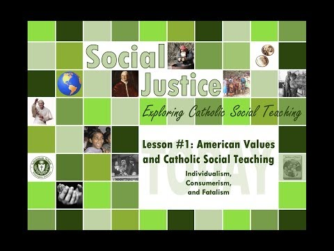 Unit 3, Lesson 1: American Values And CST