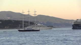 Super Yachts Video: The Maltesse Falcon &  Eclipse