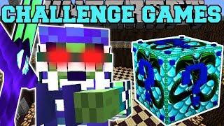 Minecraft: SNAKE MAN CHALLENGE GAMES - Lucky Block Mod - Modded Mini-Game