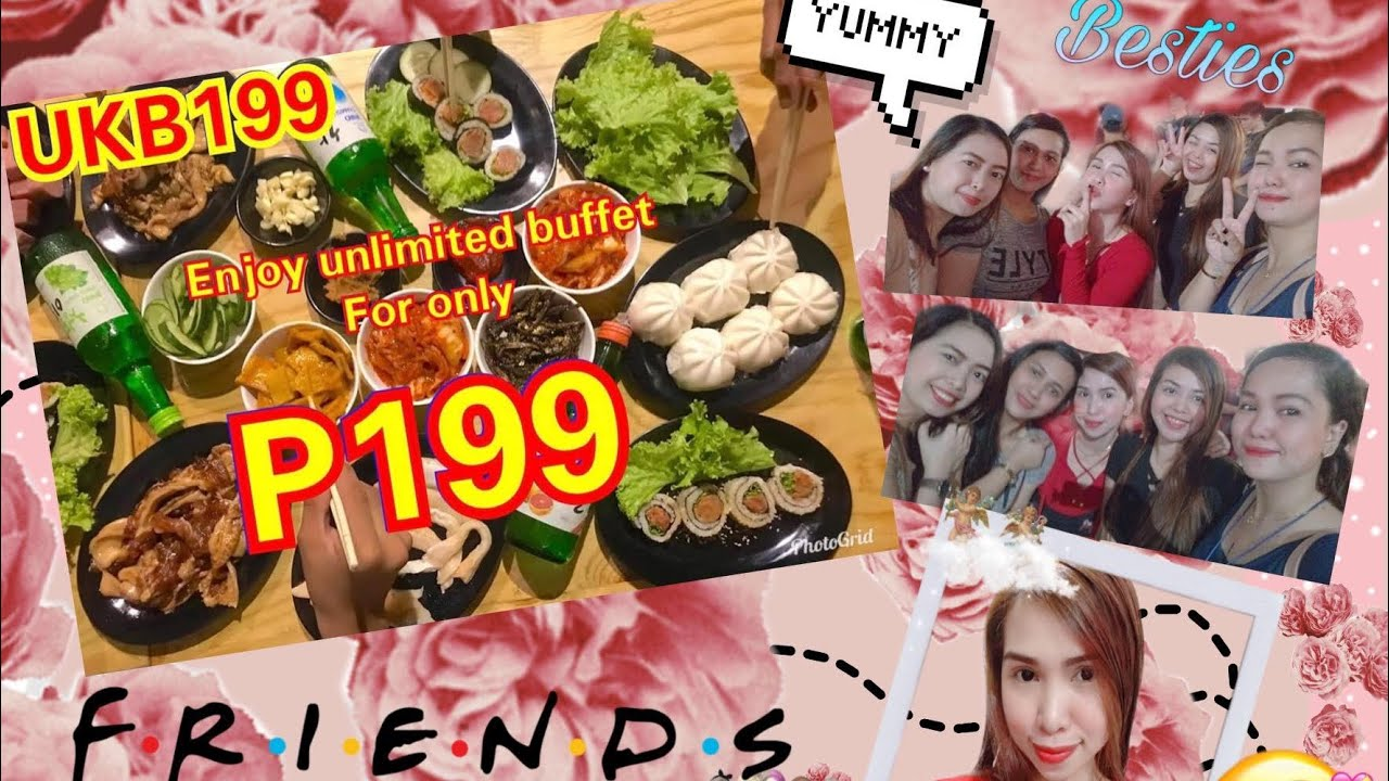 AFFORDABLE UNLIMITED SAMGYEOPSAL? | UKB199 | PIGGING OUT WITH MY ASAR BFFs | PINAS