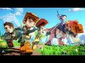 SECRET PIXARK RELEASE: Ark + Minecraft + Cubeworld! (Bosses, Dinosaurs, Bases)