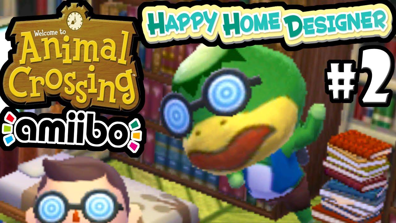 Animal Crossing Happy Home Designer Part 2 Gameplay Walkthrough Day 2 3 Kapp N Amiibo Card 3ds