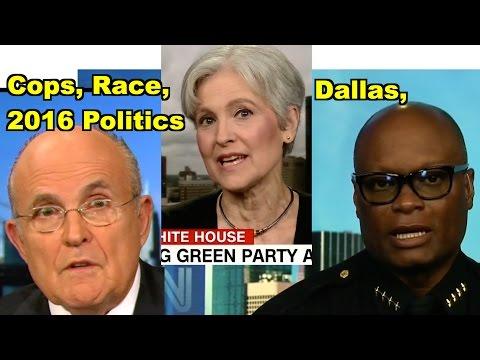 Cops, Race, Dallas, 2016 Politics - Jill Stein, David Brown & MORE! LV Sunday Clip Roundup 168