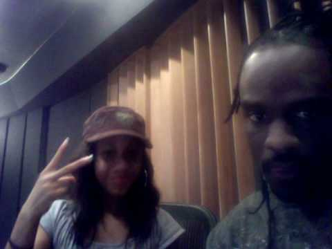 Tiffany Evans at it again in the studio