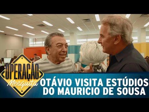 Otávio Mesquita visita estúdios do Mauricio de Sousa | Operação Mesquita (23/04/17)