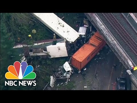 National Transportation Safety Board: A Team Will Investigate The Train Derailment | NBC News