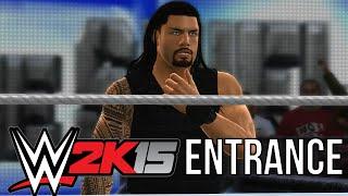 WWE 2k15: Roman Reigns Entrance