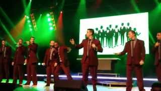 "Straight No Chaser ""12 Days Of Christmas"" Happy Hour Tour Rabobank Theater 10/14/14"