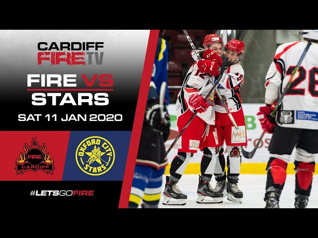 Full Game: Cardiff Fire vs Oxford City Stars - 11/01/2020