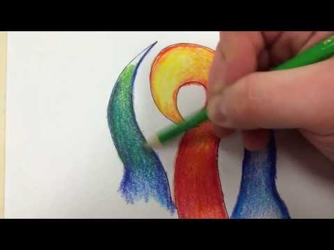 Colored Pencil Tutorial: Blending Analogous Colors