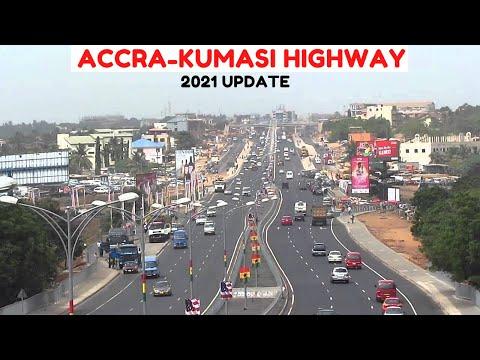The ACCRA - KUMASI Highway UPDATE 2021    KENTINKRONO - ASAFO LABOUR    Ashanti Region, Ghana.