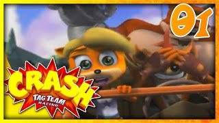 Jeri Plays | Crash Tag Team Racing Pt. 1 - Introduction + Mystery Island!