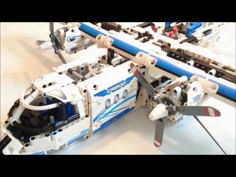 Lego® - Technic - 42025 - Frachtflugzeug - Review +