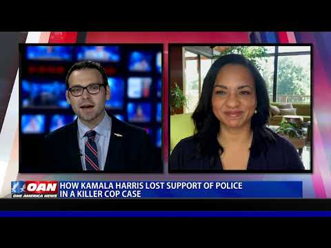 How Kamala Harris lost support of police in killer cop case
