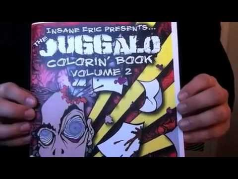 ninja party dvd gotj qr code juggalo coloring book youtube