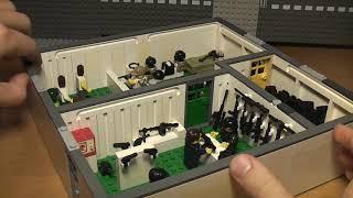 Магазин оружия - лего самоделка для города.