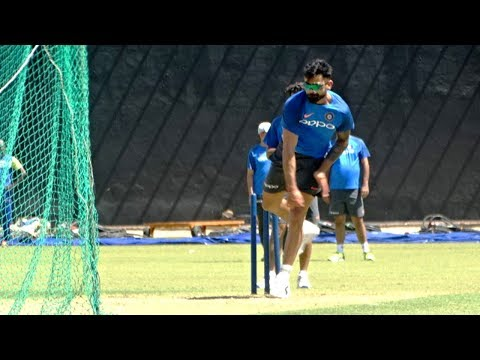 Watch: Virat bowl leg spin like whom at Indian nets?
