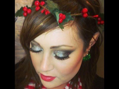 christmas elf makeup tutorial ootd - Christmas Elf Makeup