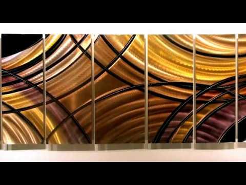 Fantastic Journey Fine Abstract Metal Modern Art By Jon Allen