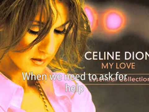 Celine Dion - There Comes A Time KARAOKE/INSTRUMENTAL (My Love... Essential Collection)