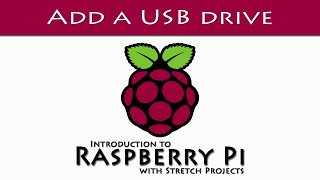 Connect a USB drive to your Raspberry Pi
