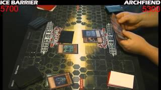 Yugioh Duel: Archfiends vs Ice Barrier - Round 2