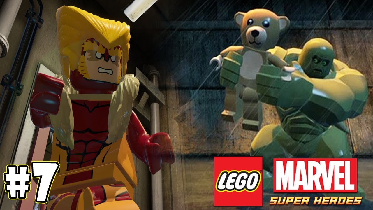 LEGO Marvel Super Heroes Part 7 - Sabretooth & Abomination ... How To Make Lego Abomination