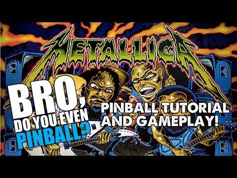 "Metallica pinball with Community Beer Works - 5/26/16 ""Bro, do you even pinball?"""
