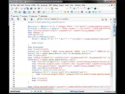 PHP Forum // Edit Replies