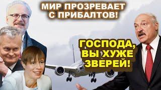 В шoкe даже Лукашенко! Оказывается Протасевича отдали за транзит в Прибалтику